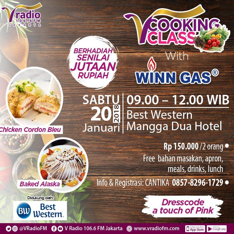 V Cooking Class with Winn Gas
