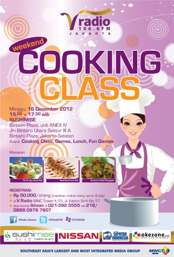 V Radio presents Cooking Class