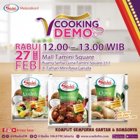 V Cooking Demo bersama SASA