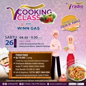V Cooking Class with Winn Gas