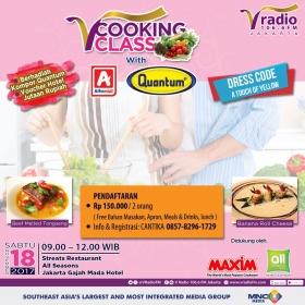 V Cooking Class with Alfamidi & Quantum