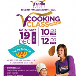 V Cooking Class: Mom & Kid
