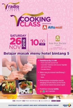 V Cooking Class at Sari Pan Pacific