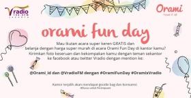 Orami Fun Day