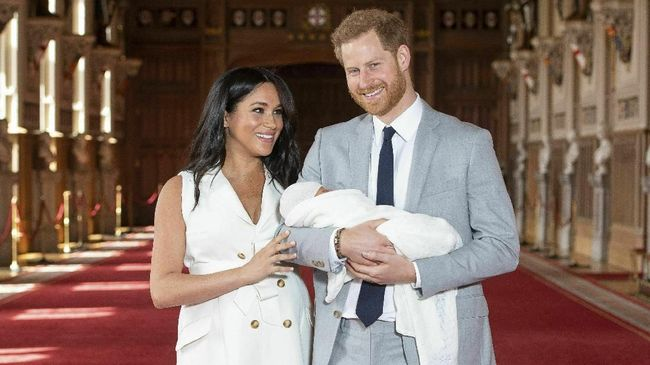 Ini Dia Nama Bayi Meghan Markle - Pangeran Harry