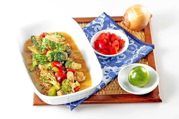 Brokoli Tuna Paprika Jitu Jaga Daya Tahan tubuh