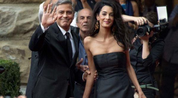 Cerita di Balik Pernikahan Mewah George Clooney-Amal Alamuddin