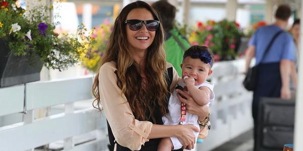 Nadine Pamer Anak untuk Pertama Kalinya