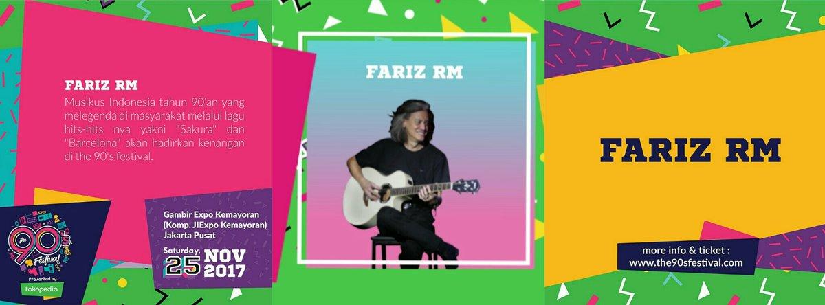FARIZ RM, Sang Rocker yang siap meriahkan The 90's Festival mendatang!