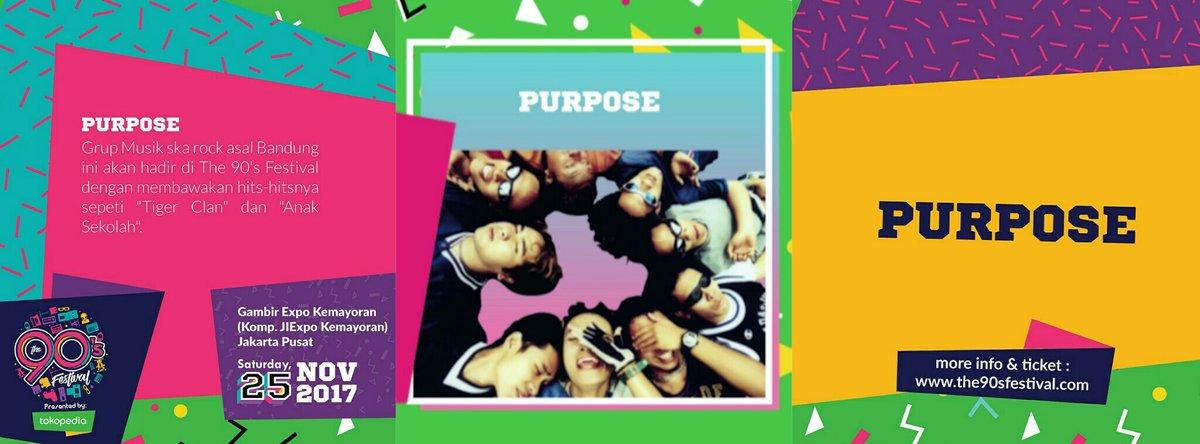 The 90's Festival hadirkan PURPOSE reuni kembali 25 November mendatang!
