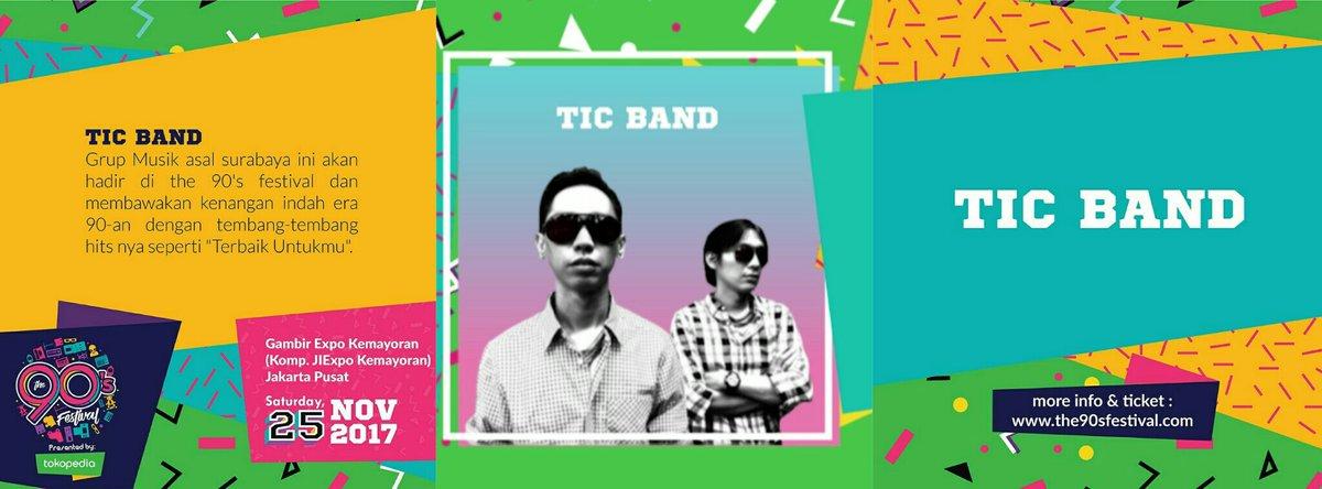 TIC BAND, siap warnai panggung The 90's Festival mendatang!