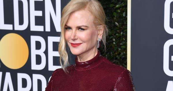 Makeup Glowing Nicole Kidman Di Golden Globes! Pake Apa Sih?