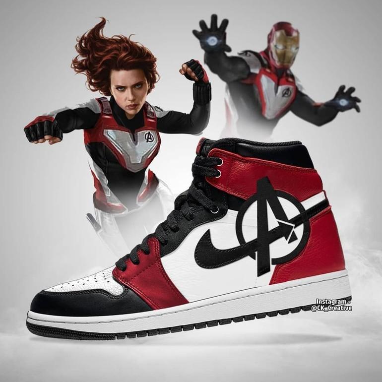 Sepatu Nike Kolaborasi Dengan Avengers, Harganya?