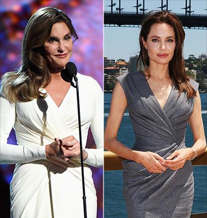 Tampil Stylish, Caitlyn Jenner Terinspirasi dari Gaya Busana Angelina Jolie