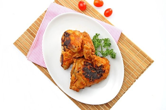 Ayam Bakar Merah Pedas