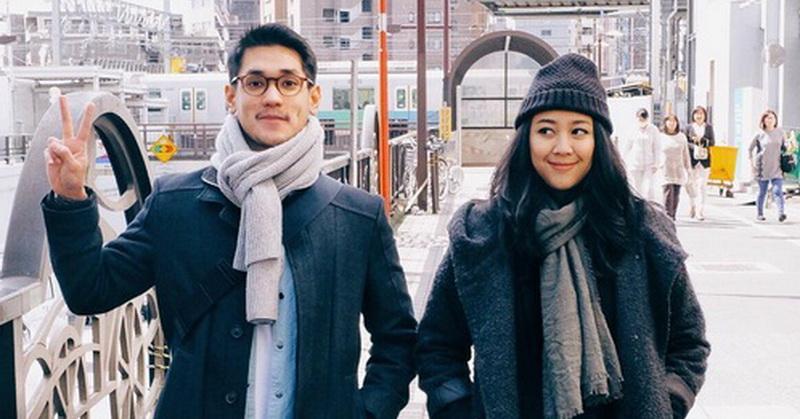 Di Jepang, Afgan Ajak Sherina Jalan-Jalan
