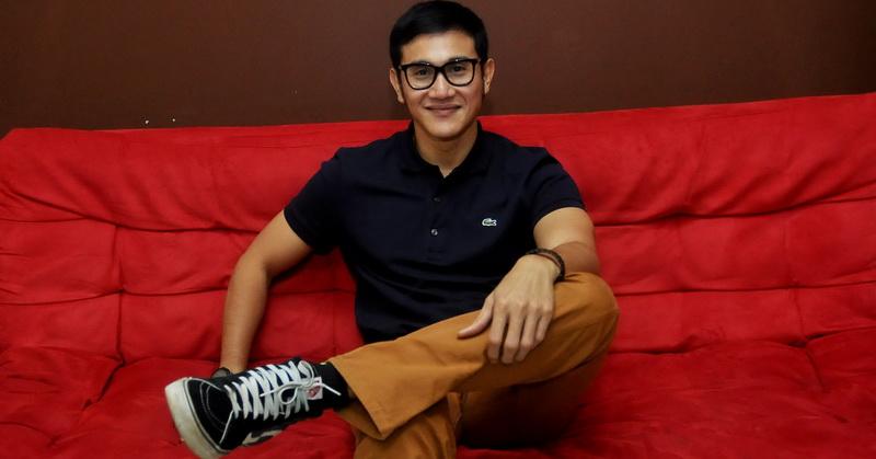 FOTO: Intip Keseruan Vino G Bastian Ajak Anak Syuting