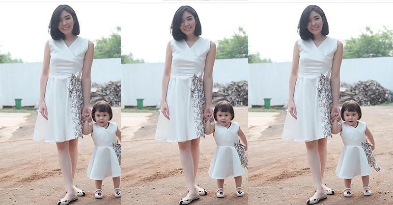 Gisel Hobi Berbusana Kembar dengan Anak, Ini Alasannya!