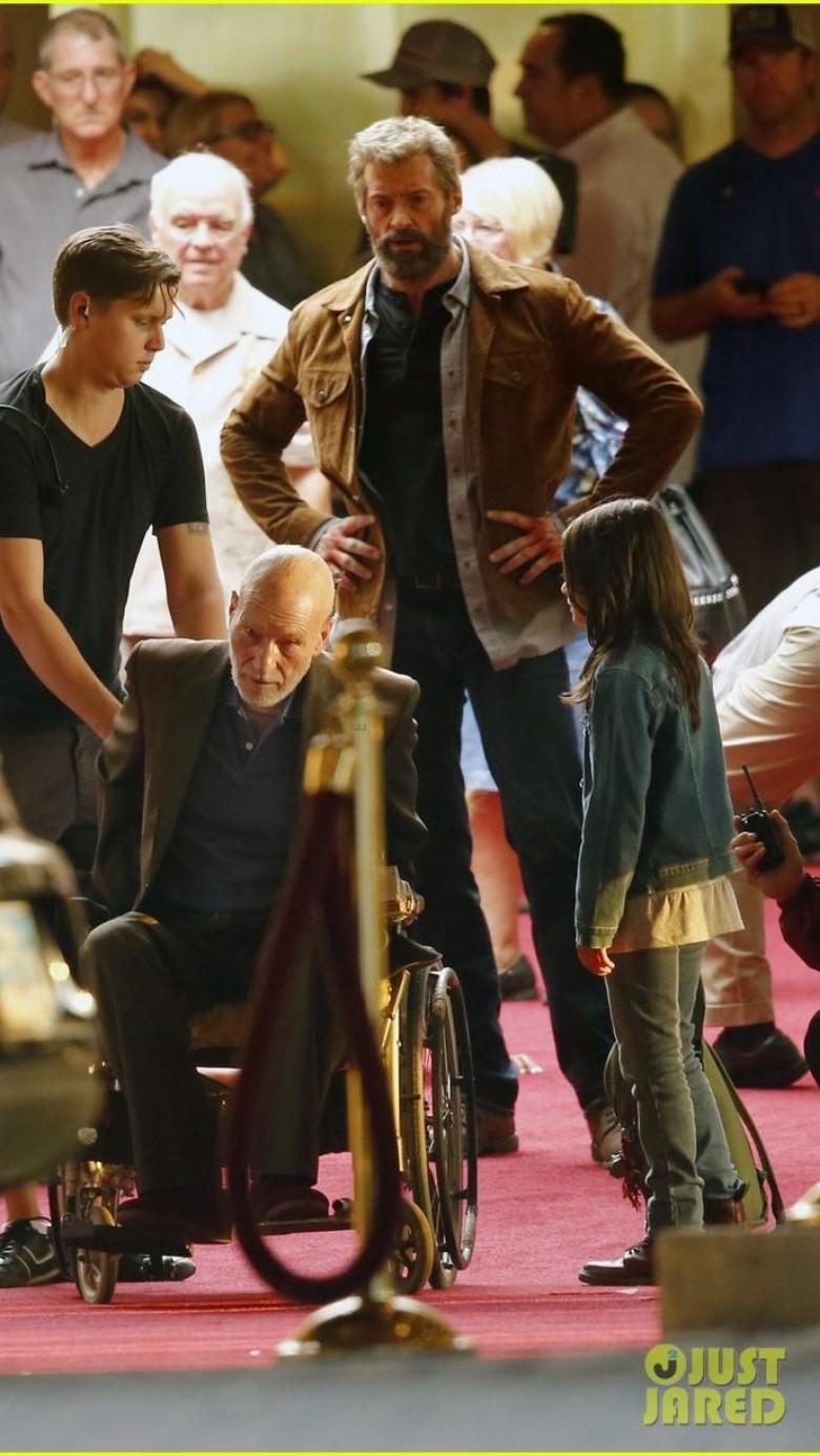 Beredar Adegan Hugh Jackman di 'Wolverine 3'