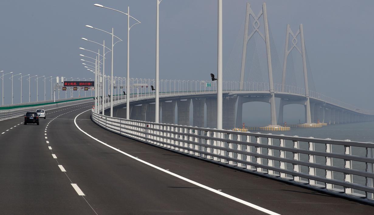 Jembatan Terpanjang Di Dunia  Segera Diresmikan