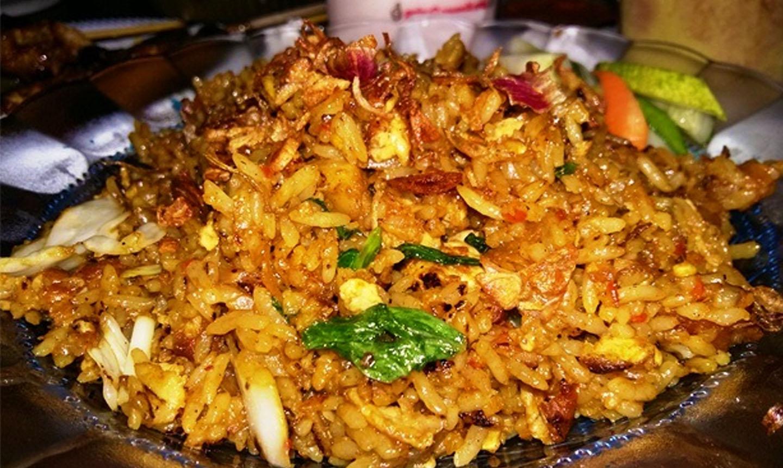 Nasi Goreng Ayam Daun Jeruk