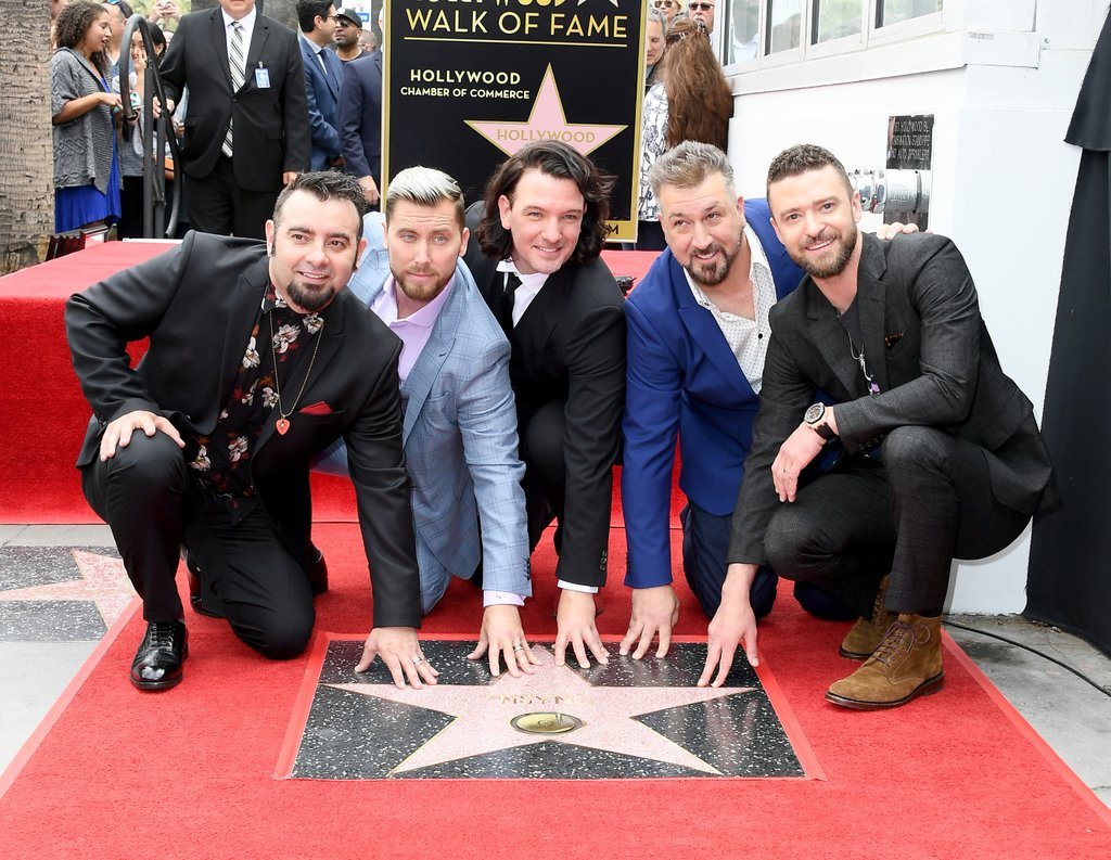 NSYNC REUNI DI HOLLYWOOD WALK OF FAME!