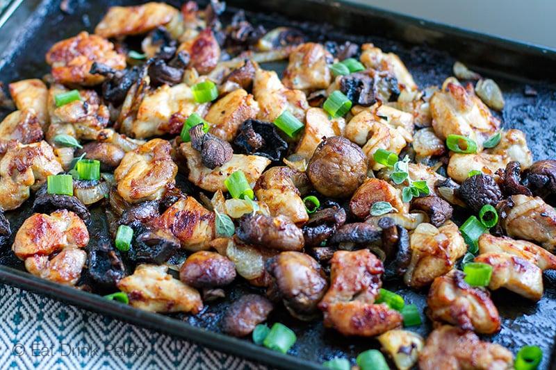 Buat Makanan Ala Asia, Ayam Cah Jamur!