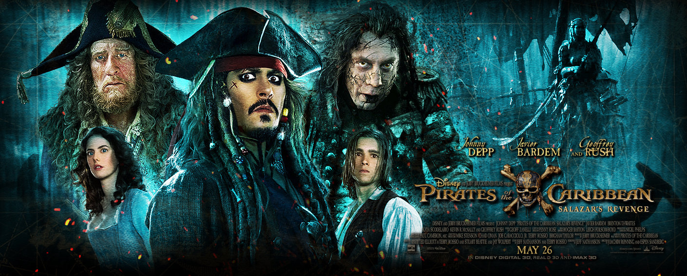 MOVIE REVIEW: PIRATES OF THE CARIBBEAN: SALAZAR'Z REVENGE