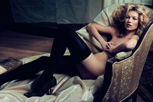 Kate Moss Pose Bugil Untuk Playboy