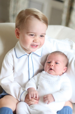 The Royal Babies in Adorable Pictures