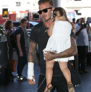 David Beckham Kecelakaan Pasca pasang Tato