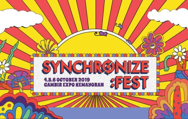 Ratusan Musisi Tampil Di Synchronize Fest 2019!