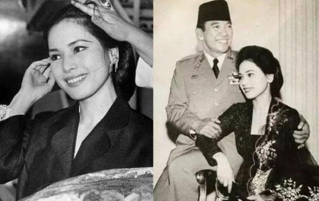 Viral! Potret Jadul Tunjukan Cantiknya Istri Soekarno