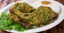 Ayam Masak Cabai Hijau untuk Makan Siang