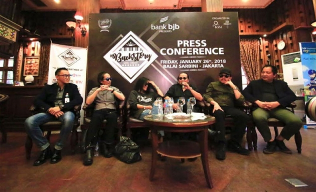 Back Story Music Concert 2018, Hadirkan Musisi Legendaris Indonesia