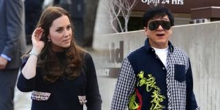 Bertemu Jackie Chan, Kate Middleton Tampil Anggun Mempesona