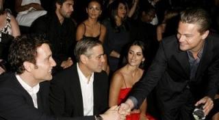 George Clooney & Leonardo DiCaprio Ribut