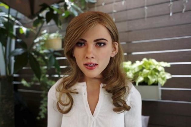 Scarlett Johanson? Bukan, Ini Robot!