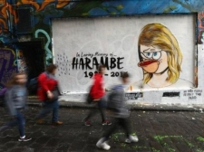 Usai Viral, Kini Mural 'RIP Taylor Swift' Dirusak
