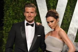 Tampilan Serasi David dan Victoria Beckham