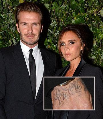 Tato Baru David Beckham