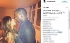 Kim Kardashian Rayakan Ultah Pernikahan di Italia