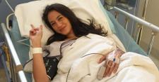 FOTO: Ucapan Pevita Pearce Pasca Operasi Tumor