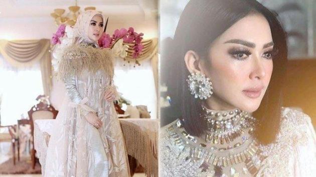 Inikah Desain Gaun Pernikahan Syahrini??