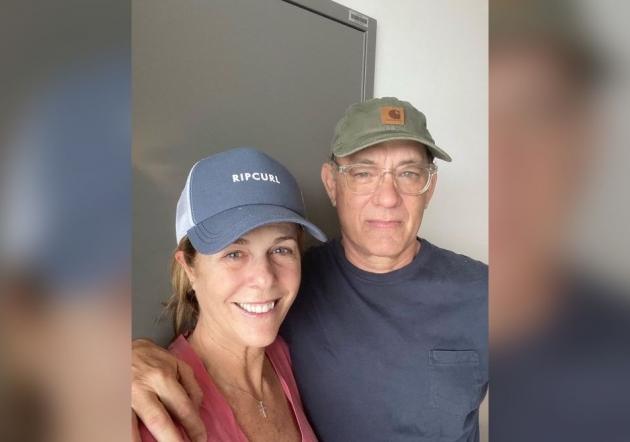 Sembuh dari Corona, Tom Hanks dan Istri Pulang ke LA