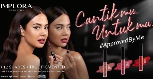Aurelie Moeremans Didapuk Menjadi Brand Ambassador Produk Kecantikan