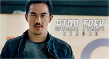 Joe Taslim 'Disiksa' Make Up dan Kostum di 'Star Trek Beyond'