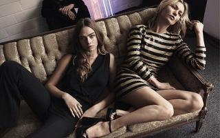 Kate Moss dan Cara Delevingne Model Baru Mango