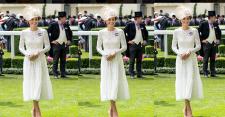 Elegannya Duchess of Cambridge Tampil dengan Topi Besar