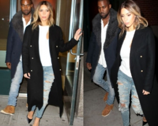 Celana Jeans Robek Kim Kardashian Seharga Rp 25 Juta